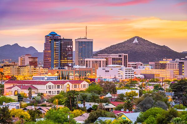 Image of Downtown Tucson, AZ